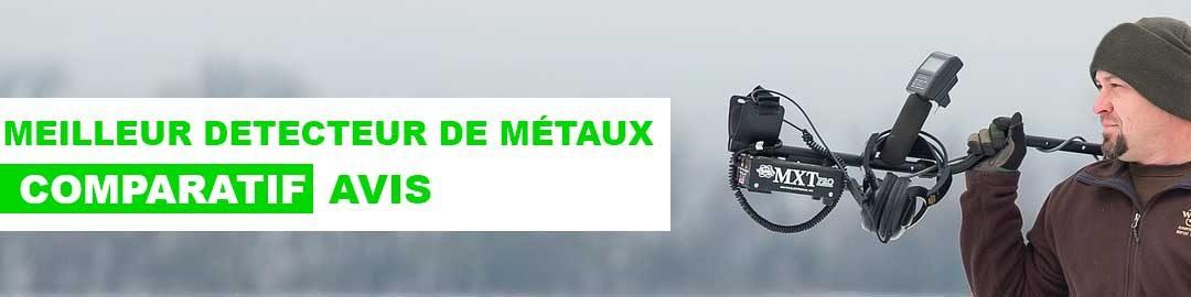 Quel est le meilleur détecteur de métaux ? Notre comparatif