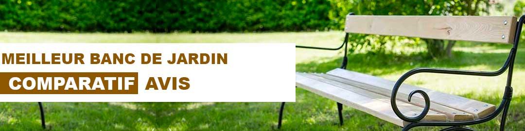 meilleur banc de jardin